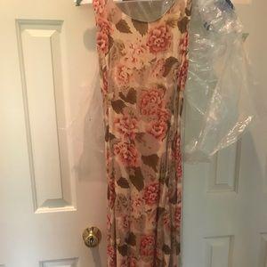 April Cornell Floral Maxi Dress, xs